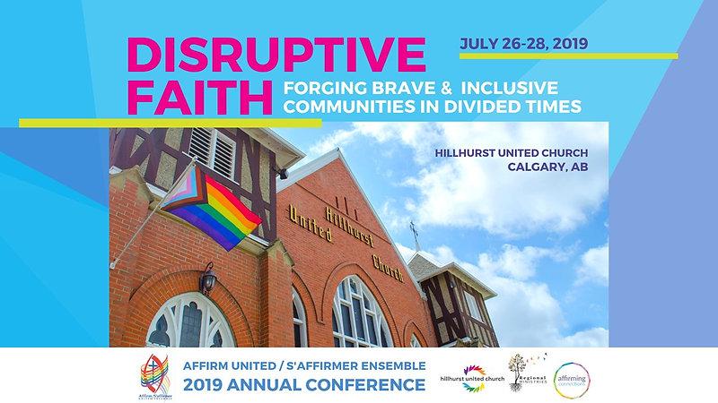 Disrupted Faith - 2019 AU/SE Conference