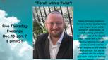 Dec. 17, 2020 Rabbi Goldman Class