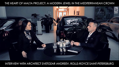 ROLLS-ROYCE: Interview With Architect Svetozar Andreev