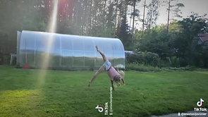Mila's fantastic gymnastics!