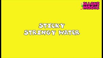 Sticky Water 1