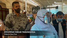 INDONESIA MERINDU PRIVATE EXHIBITION 2020 - DIKUNJUNGI - GUBERNUR JATIM IBU KHOFIFAH