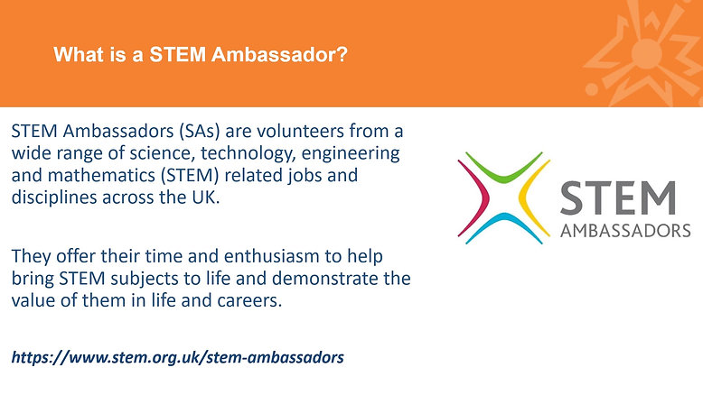 YSLP to STEM Ambassador Information