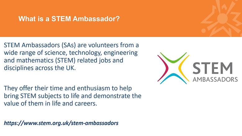 YSLP to STEM Ambassador Information