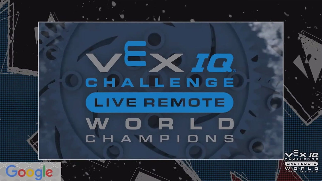 SRA 988A - 2021 Vex World Champions