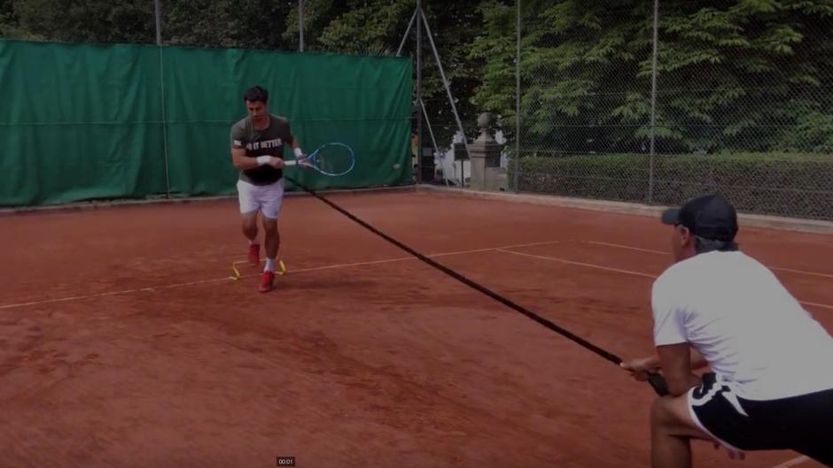 Tennis Serve Drills