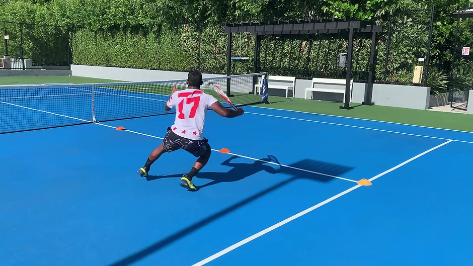 Speed and Agility Training on the Hard Court