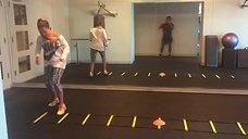 Ladder footwork