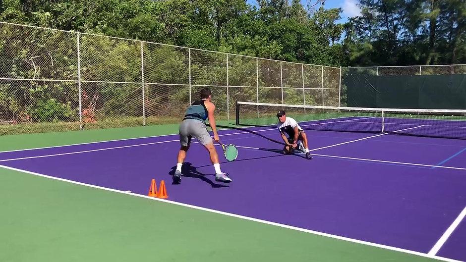 Tennis Serve Drills.