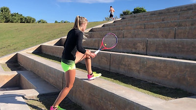 Increase Power on the Big Step Drills