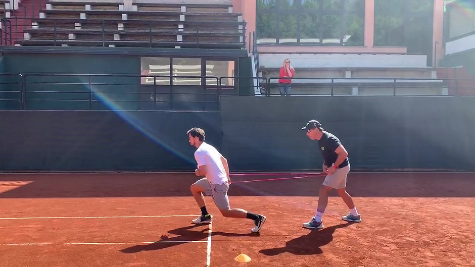 Speed & Agility Training on Clay Court