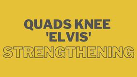 Quads Knee Strengthening