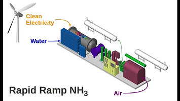 Starfire Energy's Rapid Ramp NH3