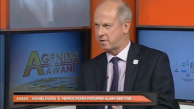 EASOS on Astro Awani with Mark Hampson