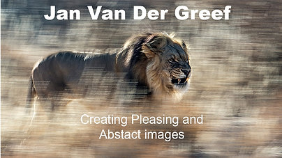 Jan Van Der Greef creating Pleasing and Abstract Images
