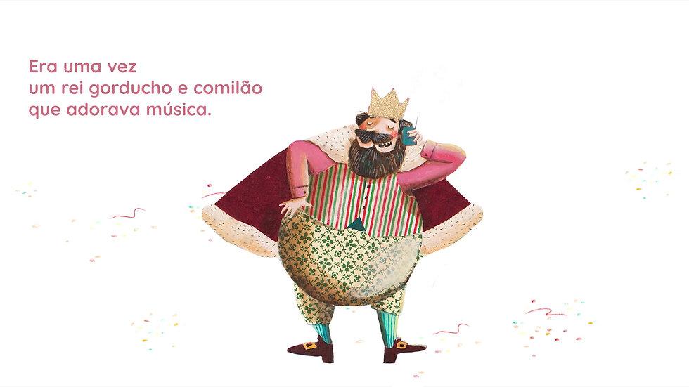 O rei que amava música