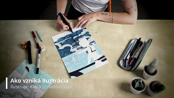 Ako vzniká ilustrácia - Sally White
