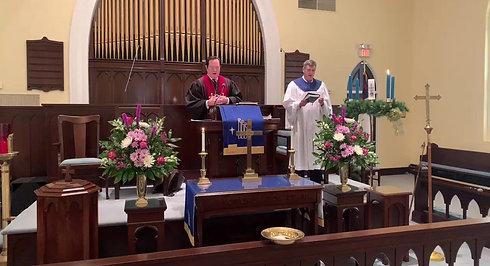 Sunday Service 11-29-20