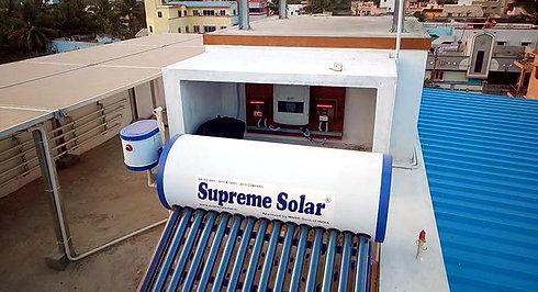 SOLAR PARK ON TERRACE