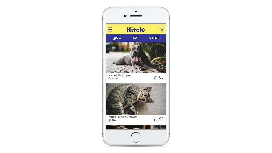 Hitch web app prototype