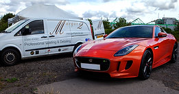 Jaguar F Type R Ceramic Application