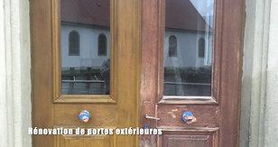 Rénovation d'anciennes portes