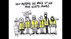 GILET JAUNE de Michel ACASS
