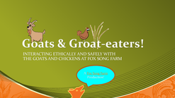 Goats and Groats Dec 14 2017 web