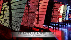 LED Module Aging Test in Production