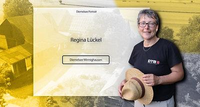 """Diemelsee Portrait 4  """"Regina Lückel"""""""