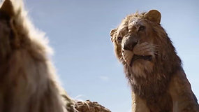 Rei Leão (2019) - morte de Mufasa