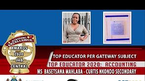 Top Educator Award 2020