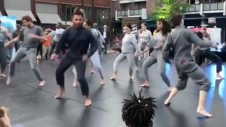 Corrosia danst Urban met DOX en Theaterschool Almere
