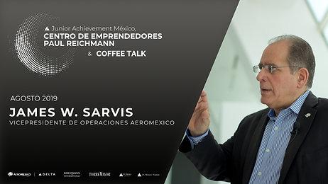 James W. Sarvis | Vicepresidente de Operaciones Aeromexico