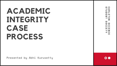 Academic Integrity Case Process