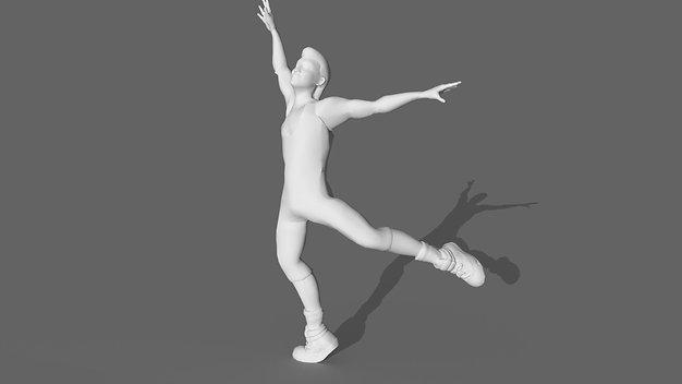 1980's Aerobic Dancer