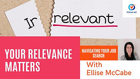 Navigating Your Job Search  Your Relevance Matters