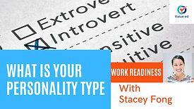 Work Readiness - What is Your Personality Type