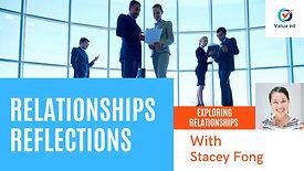Exploring Relationships - Relationship Reflections