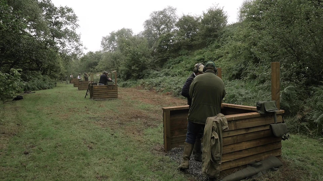 Simulated Game Shooting at Forest Estate