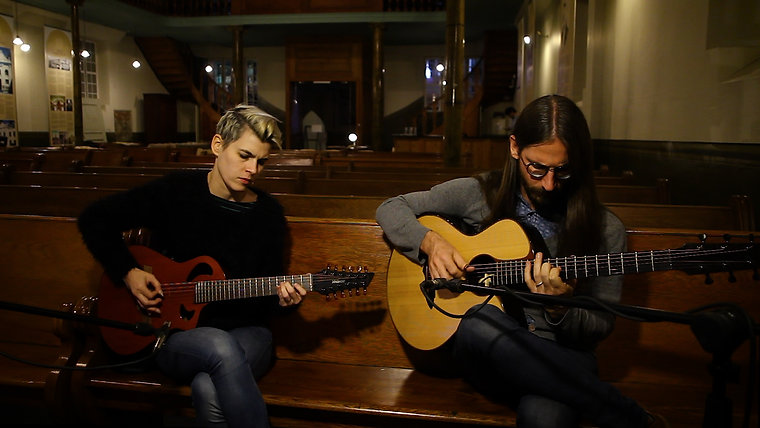 Kaki King & Guy Buttery - DADGAD - Acoustic Session
