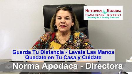 HEFFERNAN MEMORIAL HEALTHCARE DISTRICT COVID19 VIDEO