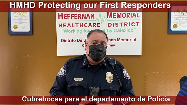 PROTECTING OUR FIRST RESPONDERS 2021