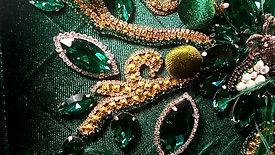 Titta' Green Handbag