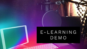 E-Learning Demo
