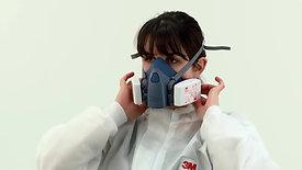 3M™ |  Respirador Medio Rostro Serie 7500