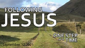 Following Jesus One Step at a Time