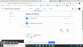 How to copy links of assignments in Google Classroom