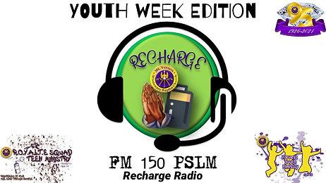 """Mt. Vernonite Weekly Recharge"" 🙏🏾🔌 - RECHARGE RADIO FM 150 PSLM - YOUTH WEEK EDITION 01_28_2021"