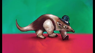 Gentleman Collared Anteater